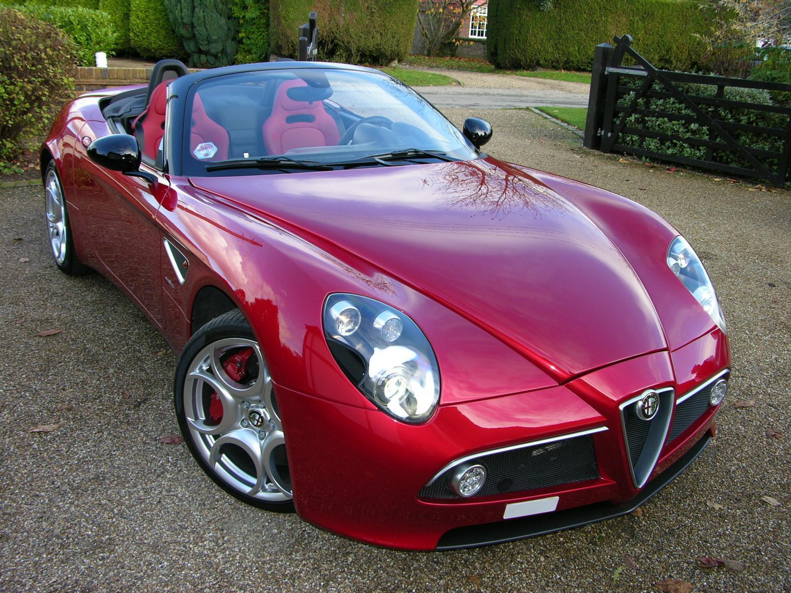 Alfa Romeo 8 C Spider