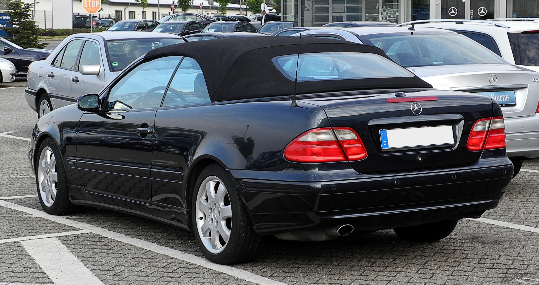 Mercedes-Benz CLK Cabrio