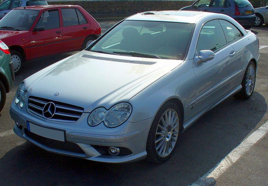 Mercedes-Benz CLK Coupé
