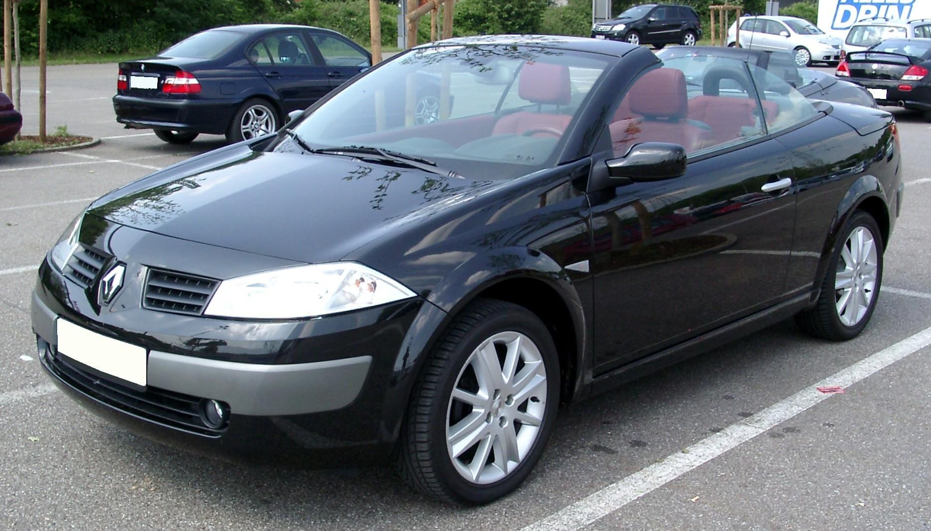 Renault Mégane 2 Coupé Cabriolet